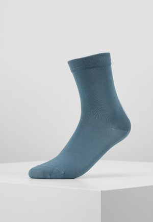 WOMEN SOCK HEEL STRIPE - Socken - sea green