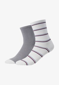 Tommy Hilfiger - WOMEN SOCK STRIPE 2 PACK - Sokken - white - 1