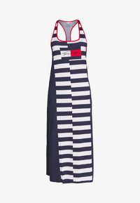 Tommy Hilfiger - TANK DRESS LONG - Noční košile - pitch blue