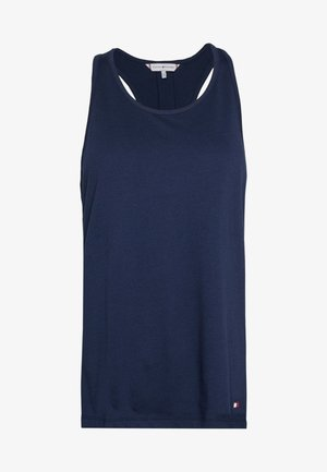 CORE SOLID LOGO TANK TOP - Pyjamashirt - pitch blue