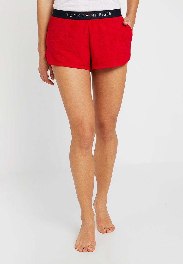 Tommy Hilfiger - CORE SOLID LOGO  - Pyjama bottoms - tango red