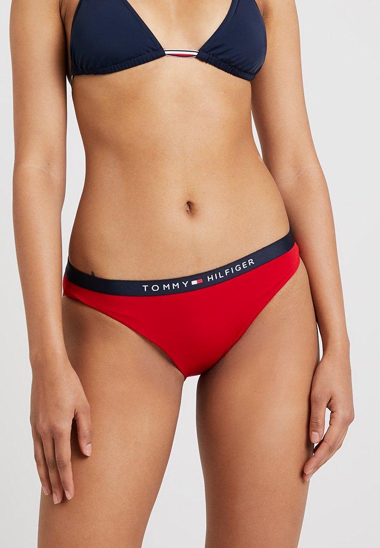 Tommy Hilfiger - CORE SOLID LOGO CLASSIC - Bikini-Hose - tango red