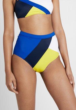 ARCHIVE - Bikiniunderdel - blue/yellow/white