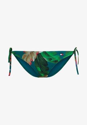 CORE SOLID BASIC STRING SIDE TIE - Bikinibroekje - vintage green