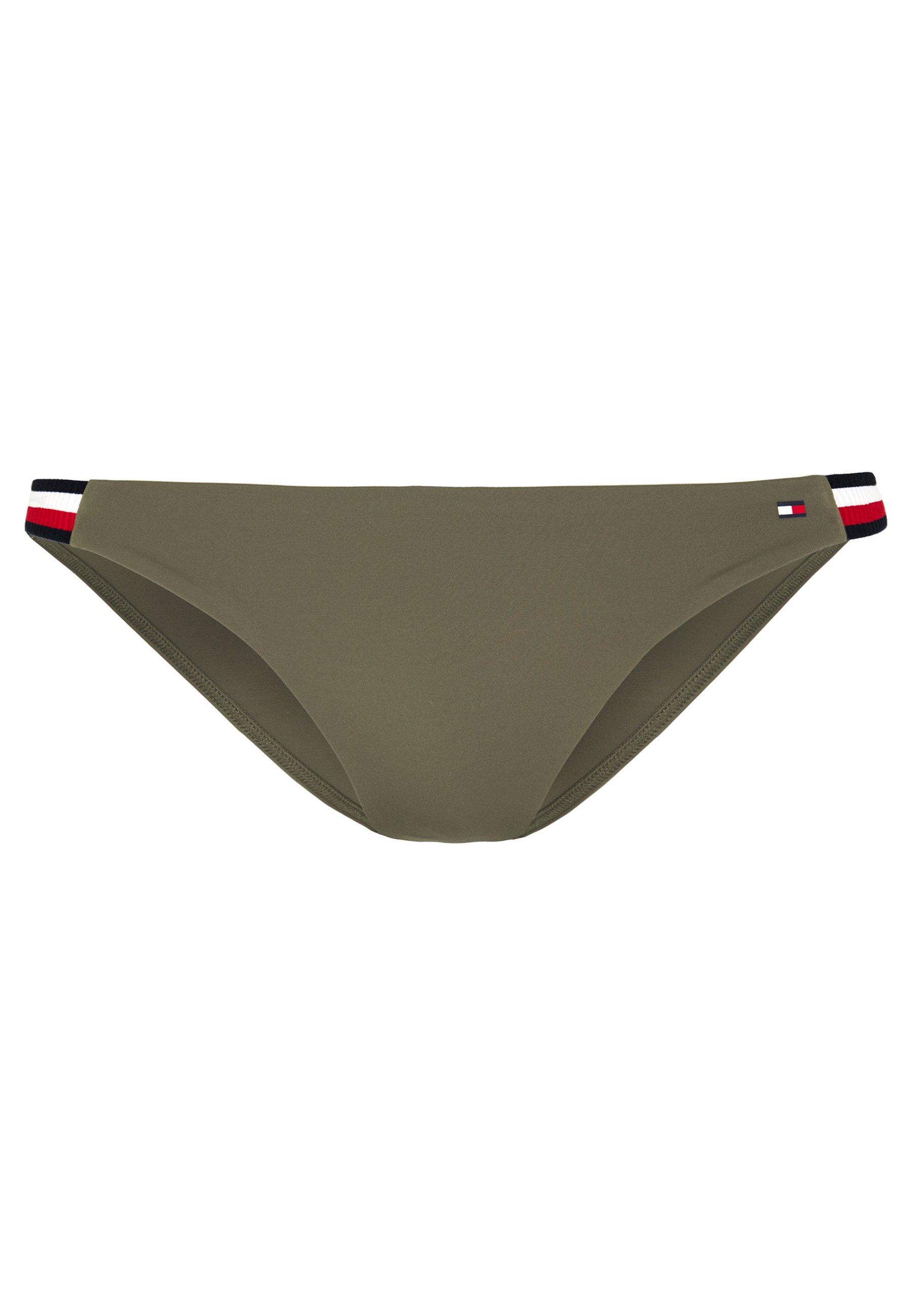 Tommy Hilfiger CORE SIGNATURE CHEEKY - Bikini bottoms - army green