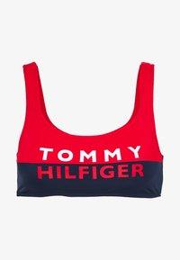 Tommy Hilfiger - BOLD BRALETTE - Top de bikini - red glare - 3