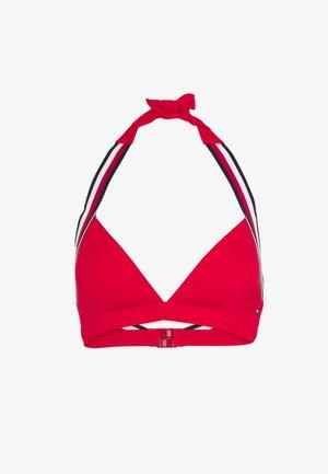 CORE SIGNATURE TRIANGLE FIXED - Bikinitop - red glare