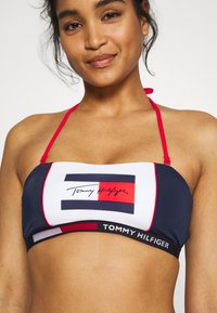 Tommy Hilfiger - BANDEAU - Bikinitop - pitch blue - 5