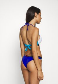 Tommy Hilfiger - FIXED TRIANGLE - Góra od bikini - azure - 2