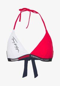 Tommy Hilfiger - FIXED TRIANGLE - Bikini top - red glare - 3