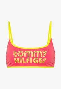 Tommy Hilfiger - POP BRALETTE - Top de bikini - laser pink - 3