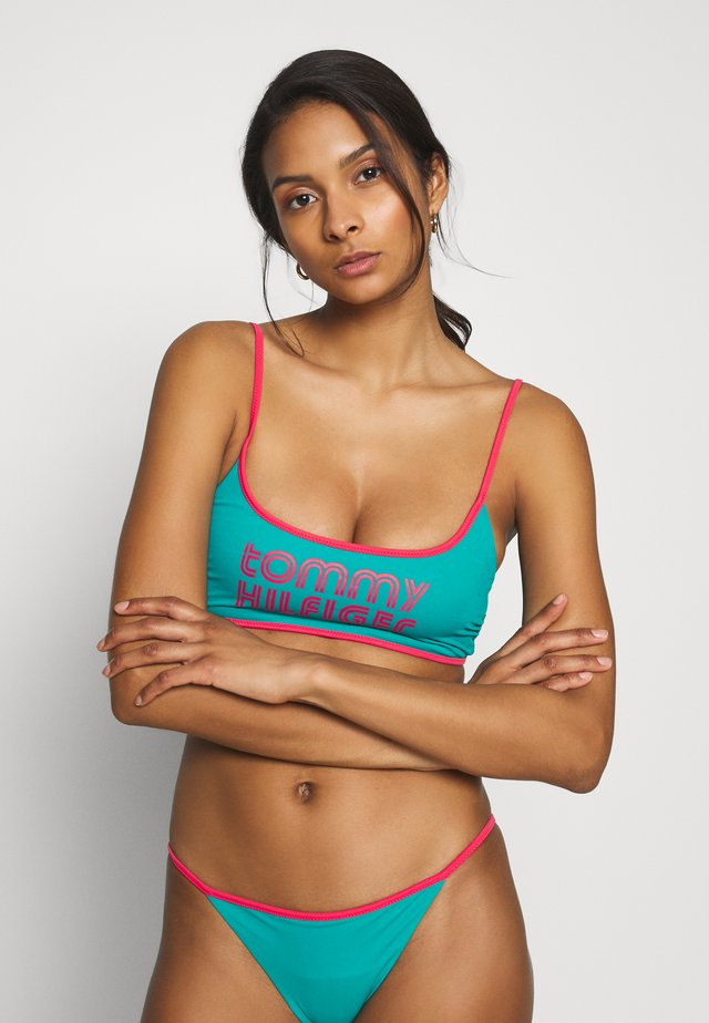 POP BRALETTE - Top de bikini - calypso green