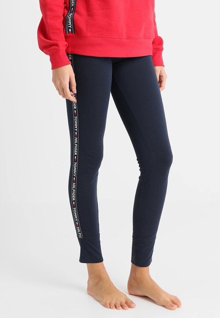 Tommy Hilfiger - LEGGING - Pyjama bottoms - blue