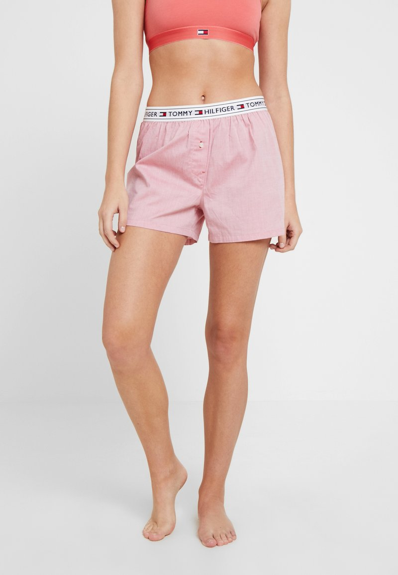 Tommy Hilfiger - AUTHENTIC SHORT - Nattøj bukser - rose of sharon