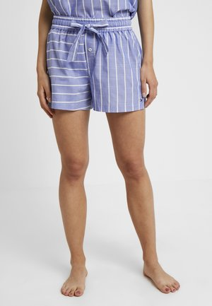 VARSITY SHORT STRIPE - Spodnie od piżamy - gray dawn