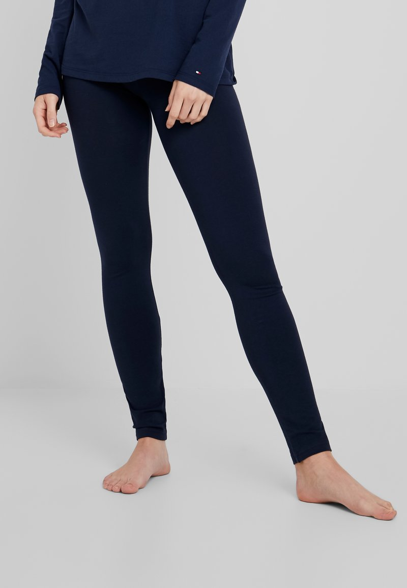 Tommy Hilfiger - SLEEP LEGGING - Pyjamabroek - navy blazer