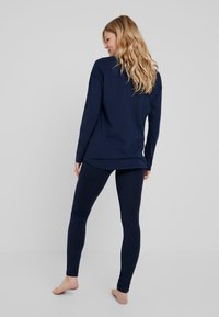 Tommy Hilfiger - SLEEP LEGGING - Pyjamabroek - navy blazer - 2