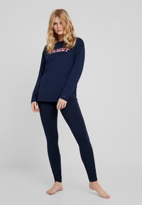 Tommy Hilfiger - SLEEP LEGGING - Pyjamabroek - navy blazer - 1