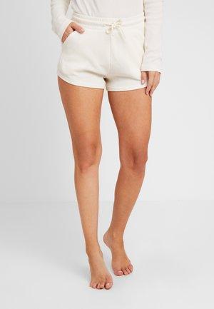 WAFFLE SHORT - Pyjamabroek - antique white