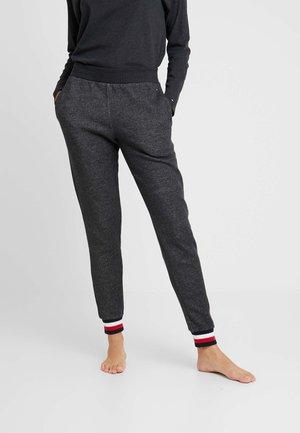 MODERN STRIPE TRACK PANT - Pyjamasbukse - dark grey