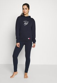 Tommy Hilfiger - LEGGING - Pyjamasbukse - navy blazer - 1