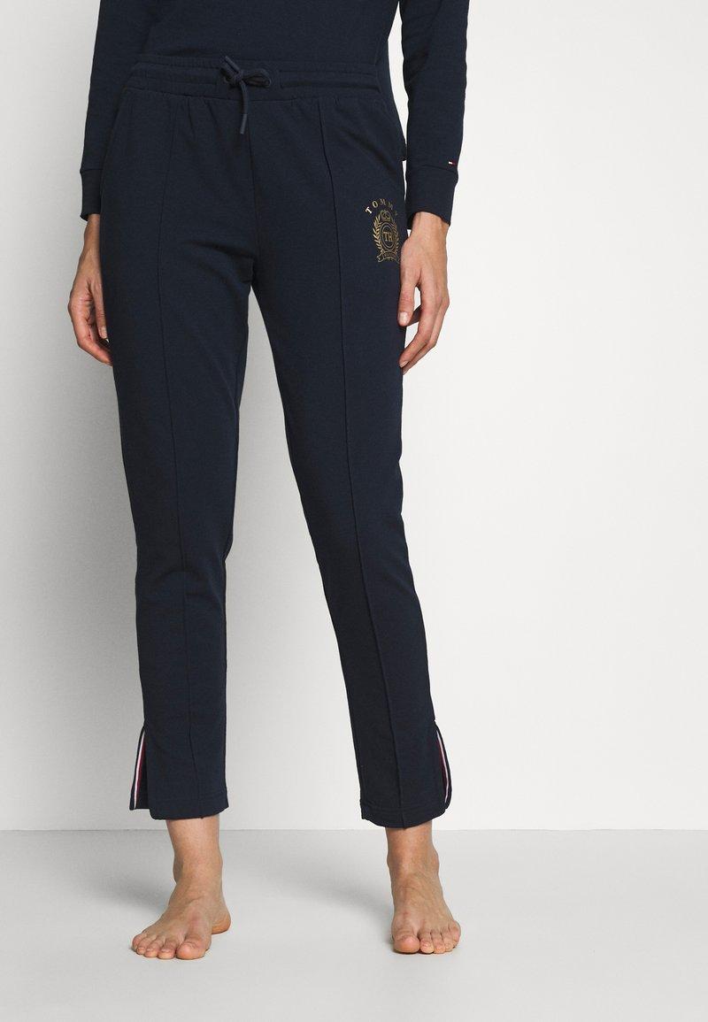 Tommy Hilfiger - PANT - Pyjamasbukse - navy blazer