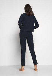 Tommy Hilfiger - PANT - Pyjamasbukse - navy blazer - 2
