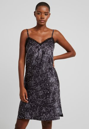 XZENDAYA STRAPPY DRESS CONSTELLATION - Nightie - black