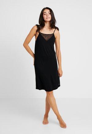 MINIMAL STRAPPY DRESS - Negligé - black