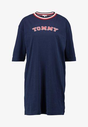 MODERN STRIPE DRESS - Nattskjorte - navy blazer