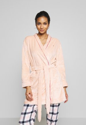 SLEEP FLUFFY ROBE - Badjas - pale blush