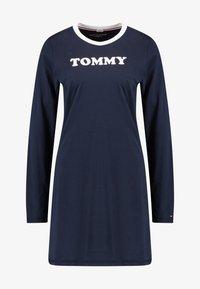 Tommy Hilfiger - SLEEP NIGHTDRESS - Noční košile - navy blazer - 3
