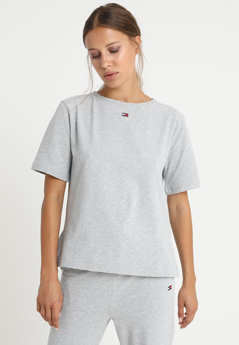 Tommy Hilfiger - TEE HALF - Koszulka do spania - grey