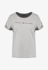 Tommy Hilfiger - ORIGINAL TEE LOGO - Pyjamashirt - grey heather - 4
