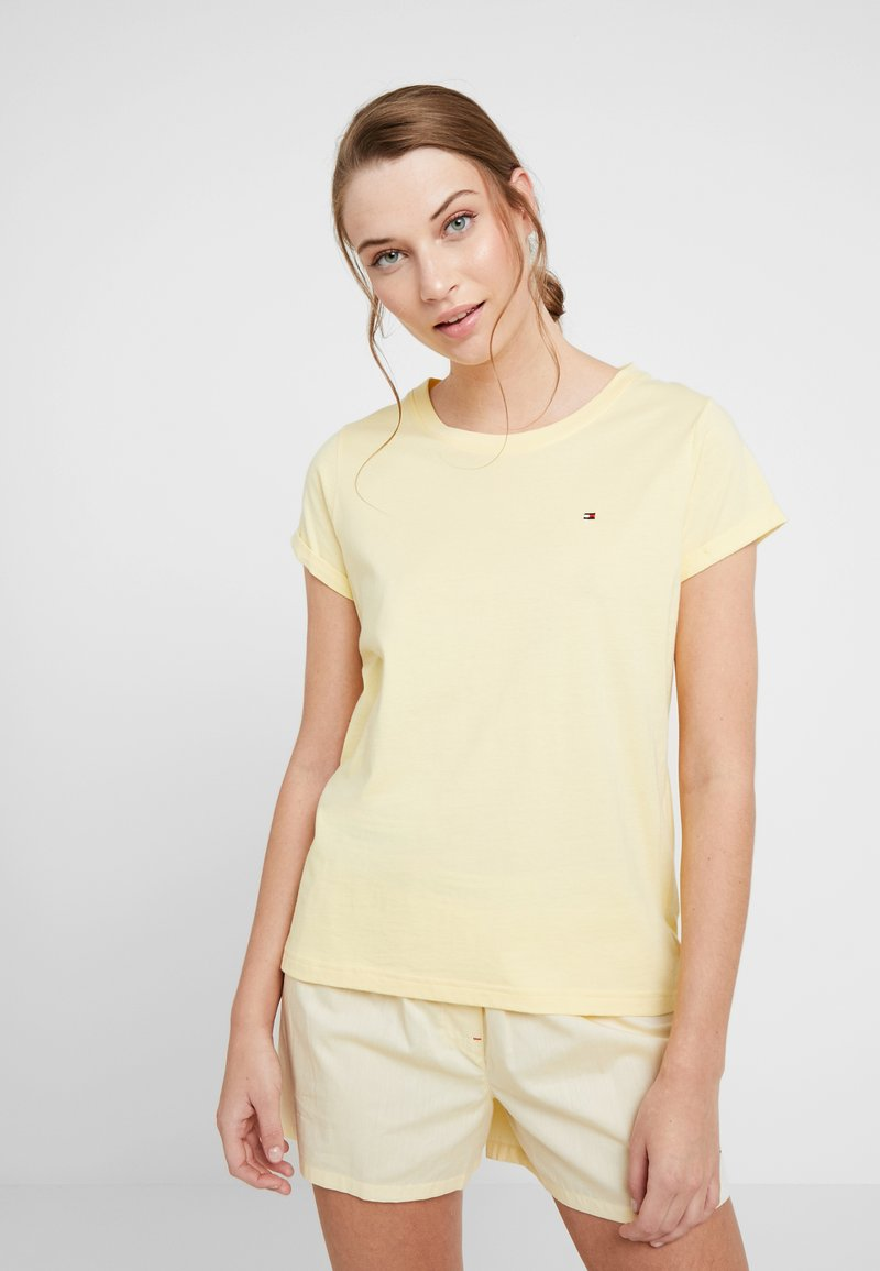 Tommy Hilfiger - AUTHENTIC TEE - Nachtwäsche Shirt - lemon meringue