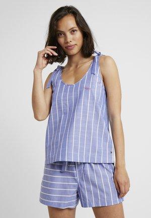 VARSITY TANK STRIPE - Haut de pyjama - gray dawn