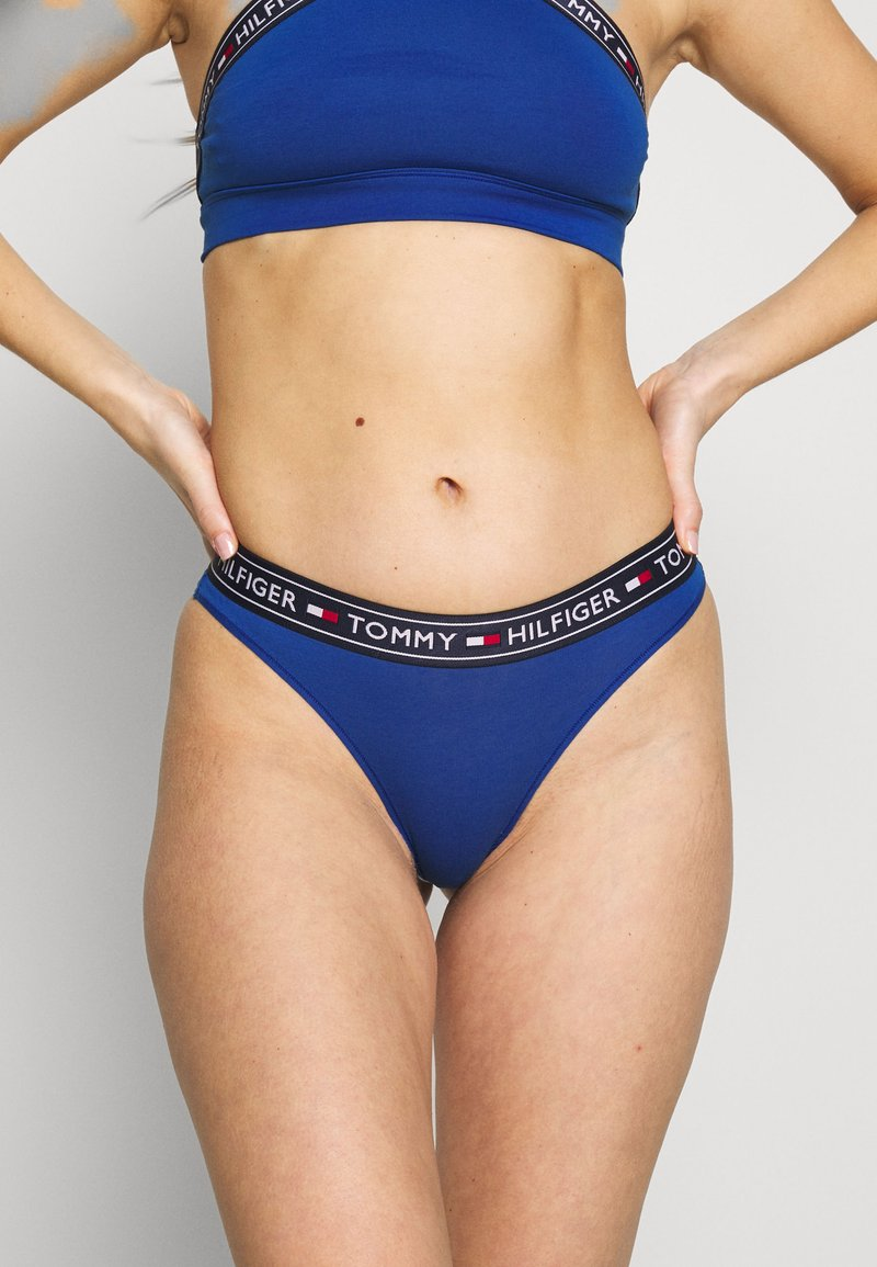 Tommy Hilfiger - AUTHENTIC THONG - String - true blue