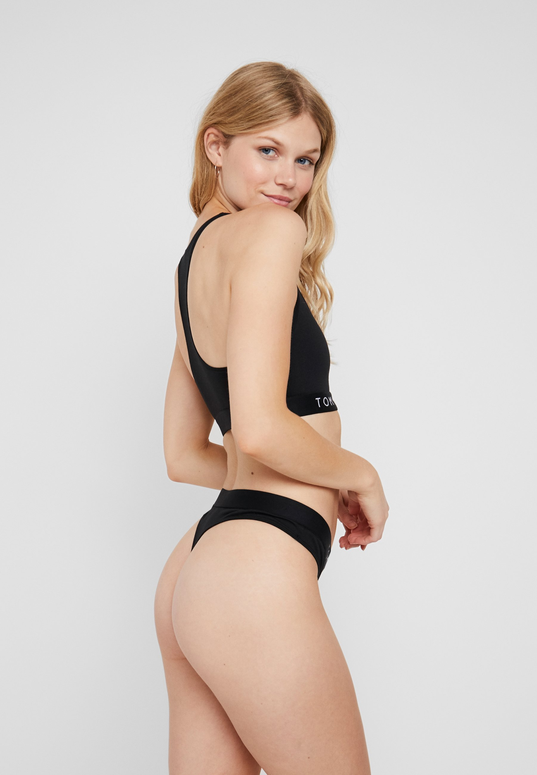 Tommy Hilfiger ORIGINAL THONG - Thong - black