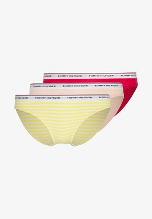 ESSENTIALS DOT PRINT 3 PACK - Slip - primroseyellow/paleblush/tangored