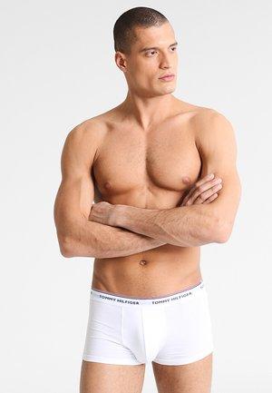 PREMIUM ESSENTIAL LOW RISE HIP TRUNK 3 PACK - Onderbroeken - white