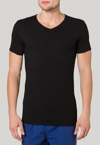 Tommy Hilfiger - PREMIUM ESSENTIAL 3 PACK - Undershirt - black - 1