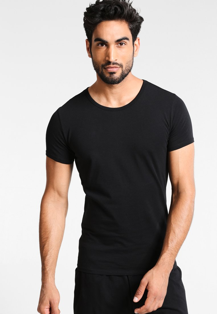 Tommy Hilfiger - 3 PACK - Camiseta interior - black