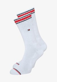 Tommy Hilfiger - MEN ICONIC SPORTS 2 PACK - Chaussettes - white - 0