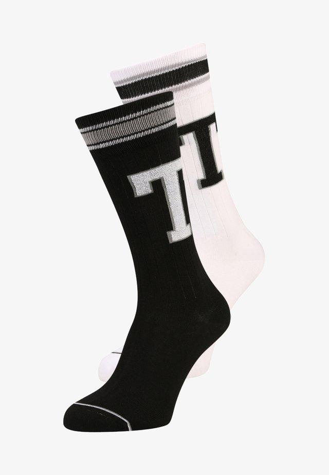 PATCH 2 PACK - Ponožky - white