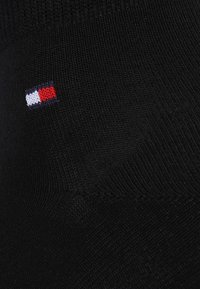 Tommy Hilfiger - MEN QUARTER 4 PACK - Skarpety - black