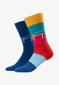 Tommy Hilfiger - THJBOY COLORBLOCK 2PACK - Sokken - mixed colors - 1