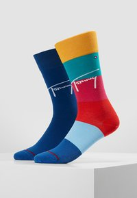 Tommy Hilfiger - THJBOY COLORBLOCK 2PACK - Sokken - mixed colors - 0
