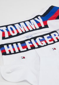 Tommy Hilfiger - MEN QUARTER 2 PACK - Chaussettes - white - 2