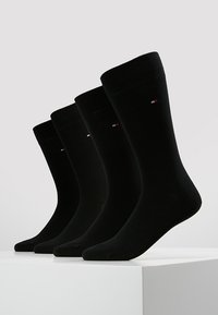 Tommy Hilfiger - MEN SOCK CLASSIC 4 PACK - Sokken - black - 0