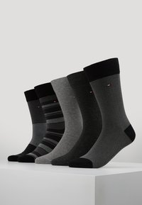 Tommy Hilfiger - MEN BIRDEYE GIFTBOX 5 PACK - Calze - black - 0